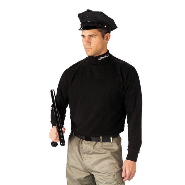 "Rothco® - ""Security"" 3X-Large Black Men's Mock Turtleneck"