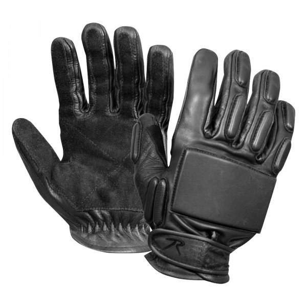 Rothco® - X-Large Black Full-Finger Rappelling Tactical Gloves