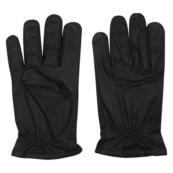 Rothco® - Large Black Lined Leather Cut Resistant Duty Gloves