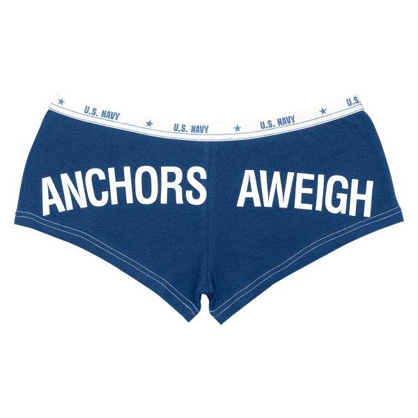 "Rothco® - ""Anchors Aweigh"" Medium Navy Blue Men's Booty Shorts"