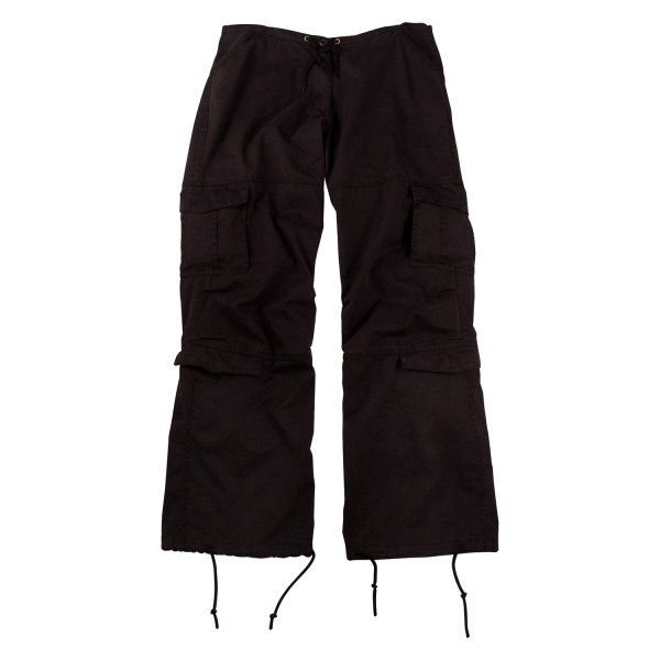"Rothco® - Vintage Black Women's Paratrooper Fatigue Pants (41"" Waist)"