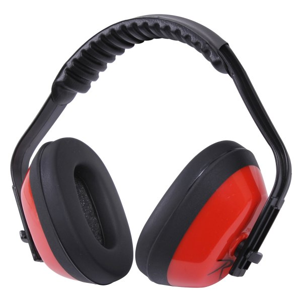 Rothco® - Noise Reduction 29 dB Passive Red Over-the-Head Ear Muffs