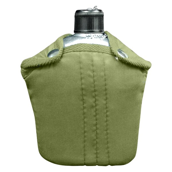 Rothco® - G.I. Style™ 1 qt. Aluminum Canteen with Cover