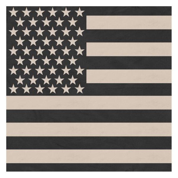Rothco® - Subdued US Flag Black/Khaki Bandana