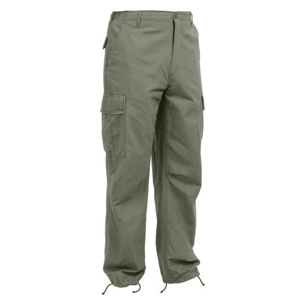 "Rothco® - Vintage Vietnam Olive Drab Men's Ripstop Fatigue Pants (47"" Waist)"