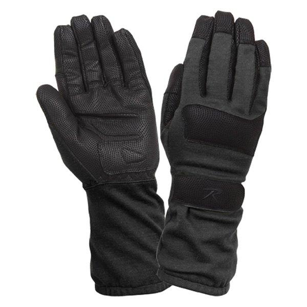Rothco® - Medium Black Fire Resistant Griplast Military Gloves
