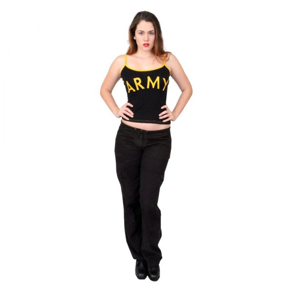 """Rothco® - """"ARMY"""" X-Large Black Women's Tank Top"""