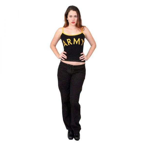 "Rothco® - ""ARMY"" X-Small Black Women's Tank Top"