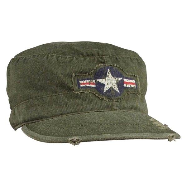 Rothco® - Vintage Air Corps Medium Olive Drab Fatigue Cap