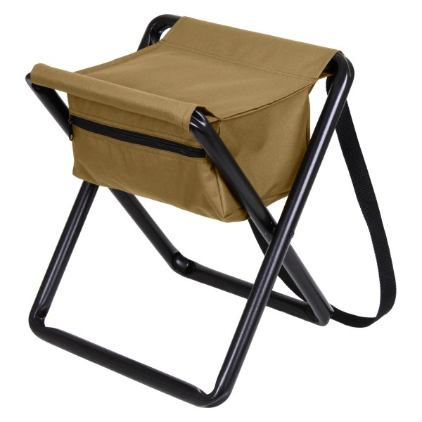 Rothco 174 45460 Coyote Brown Camp Stool With Pouch