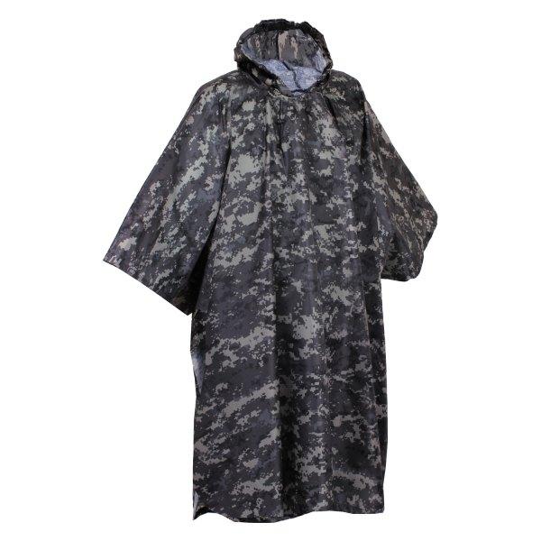 "Rothco® - 56"" x 90"" Subdued Urban Digital Camo G.I. Type Military Waterproof Rain Poncho"