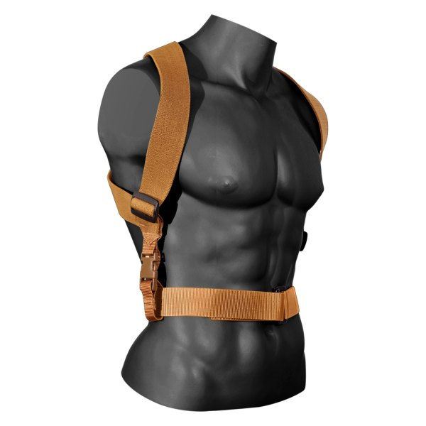 Rothco® - Coyote Brown Combat Suspenders