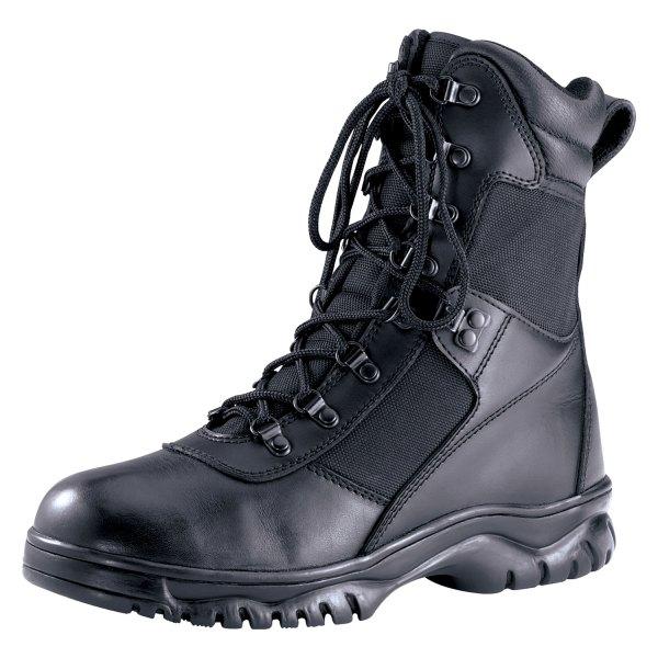"""Rothco® - Forced Entry 12 Black Men's Waterproof 8"""" Tactical Boots"""
