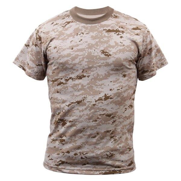 Rothco® - 4X-Large Desert Digital Camo Men's T-Shirt