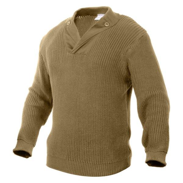 Rothco® - Men's WWII Vintage Mechanics XX-Large Khaki Sweater