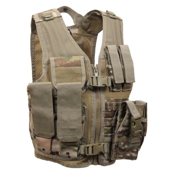 Rothco® - MultiCam Kid's Cross Draw Tactical Vest
