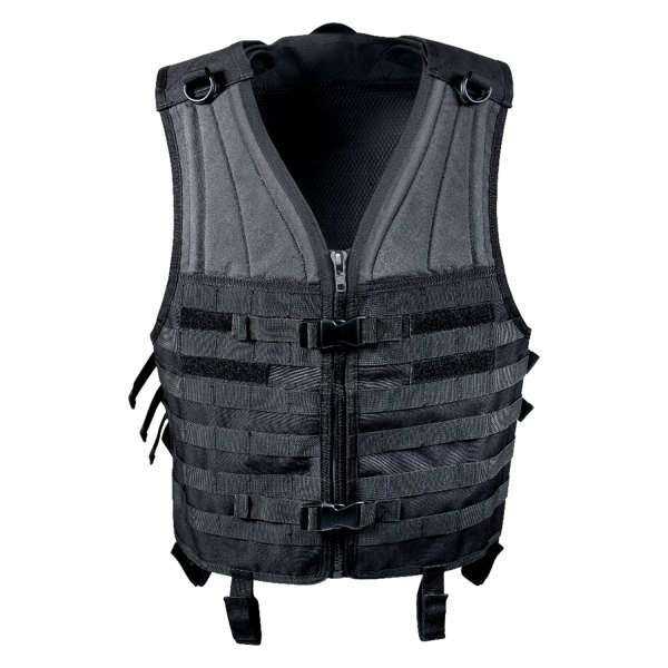 Rothco® - Black MOLLE Modular Tactical Vest