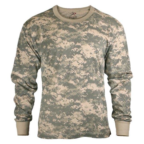 Rothco® - XX-Large ACU Digital Camo Men's Long Sleeve T-Shirt