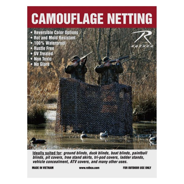 Rothco 174 6503 Military 9 10 Quot X 19 8 Quot Camo Net