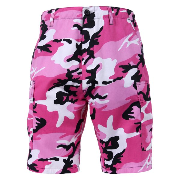 Rothco® - XX-Large Pink Camo Men's BDU Shorts