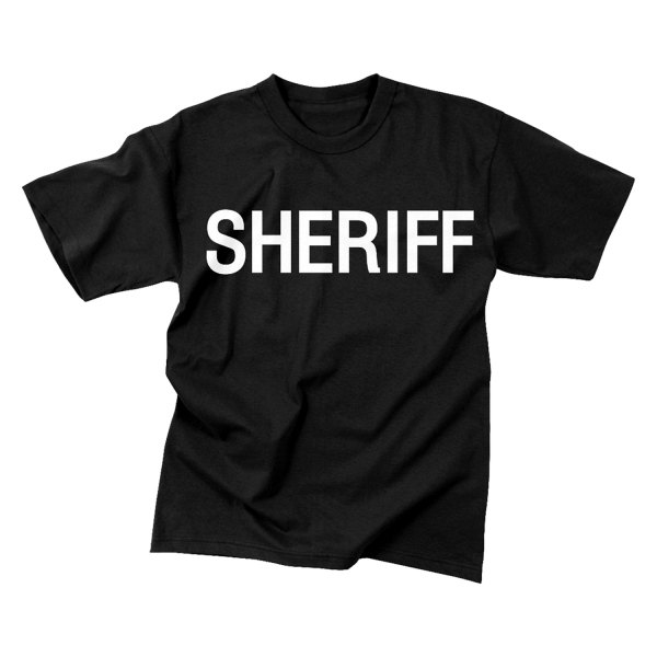 Rothco® - 2-Sided Sheriff T-Shirt