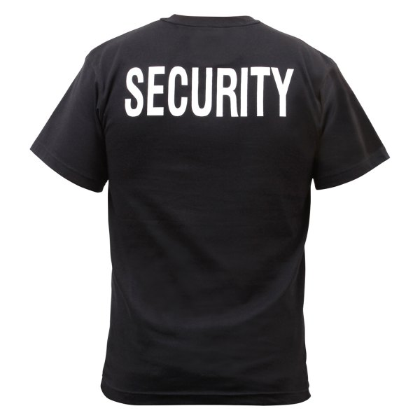 Rothco® - Black 2-Sided Security T-Shirt