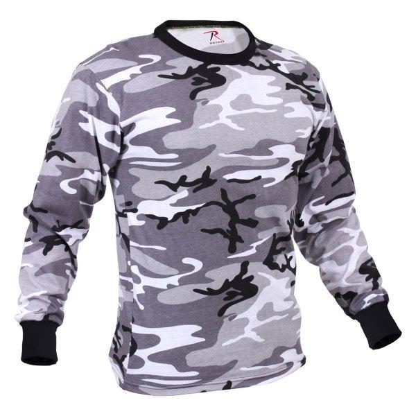 Rothco® - Long Sleeve Colored Camo T-Shirt