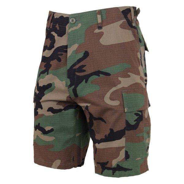 Rothco® - XX-Large Woodland Camo Men's Ripstop BDU Shorts