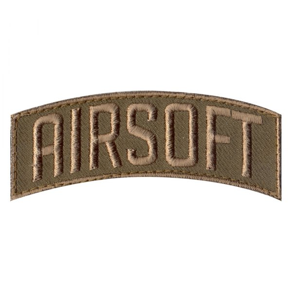 "Rothco® - ""Airsoft"" 1.25"" x 3"" Embroidered Shoulder Morale Patch"