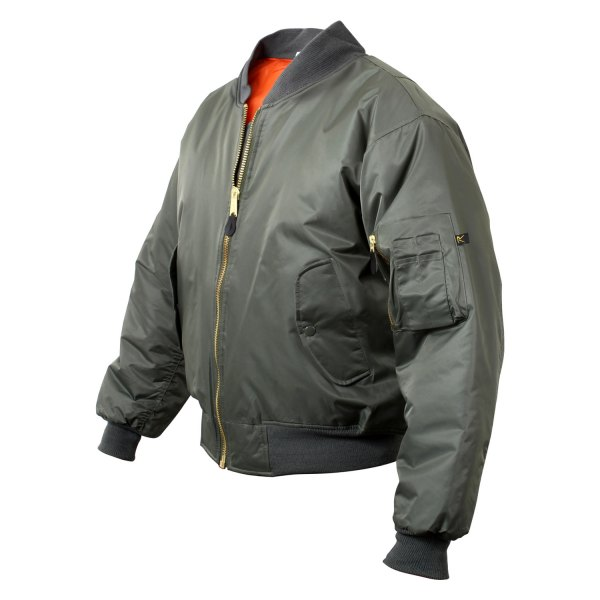 Rothco® - MA-1 4X-Large Sage Green Men's Flight Jacket