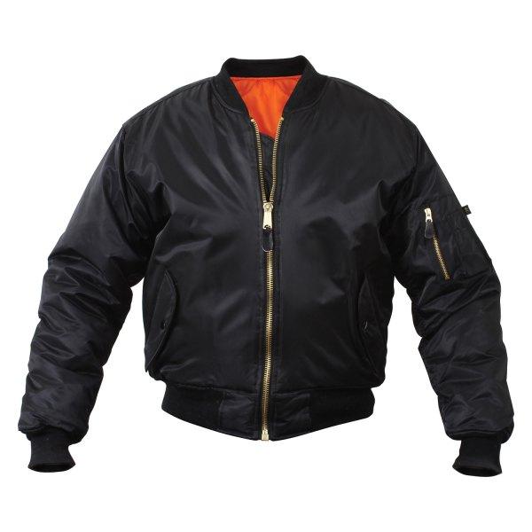 Rothco® - MA-1 6X-Large Black Men's Flight Jacket