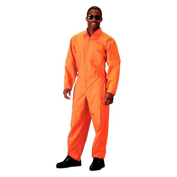 5 Zippered Pockets Rothco 7500 Mens Olive Flight Suit Adjustable Waist