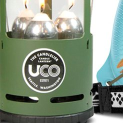 UCO Side Reflector Boost Light Output for UCO Candle Lanterns Lightweight