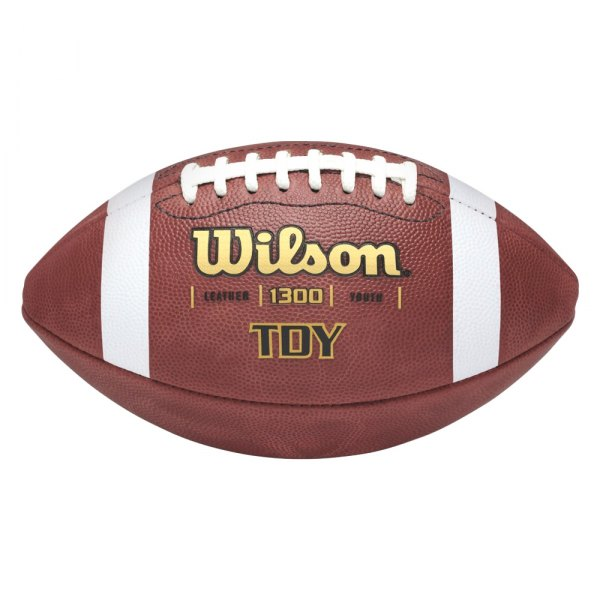 Wilson® - TD Leather Series Youth Football Ball