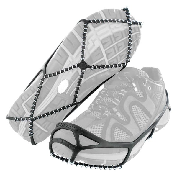 Yaktrax® - Walk™ 1 Pair 11.5-13.5 (US Man Sizes) Black/Clear/Glow Shoe Traction Chains