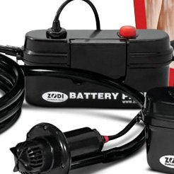 Zodi Battery Powered Showers Tent Heaters Hot Taps
